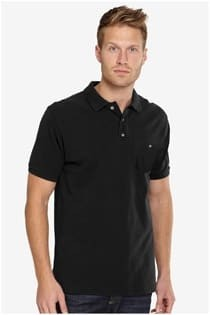 Kurzarm Piqué-Poloshirt von Kitaro.