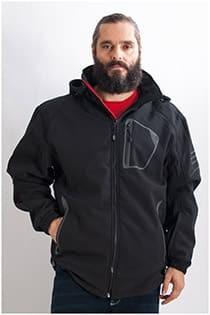 Outdoor Softshell Jacke von KAM Jeanswear (wind- und wasserabweisend)