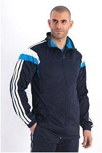 Extra lange Trainingsjacke von Plusman.