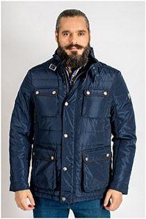 Sportliche Jacke mit großen Taschen von der Marke Plusman