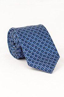 Gemusterte Krawatte von Plusman.