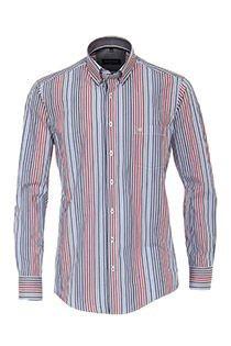 Lange mouw gestreept overhemd Casamoda