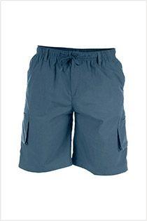 Cargo-Shorts mit elastischem Bund von D555.