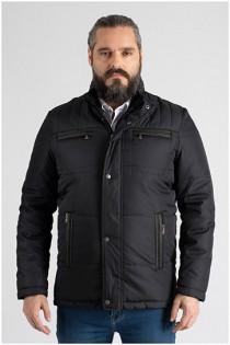Sportliche Winterjacke mit großen Taschen von Plusman