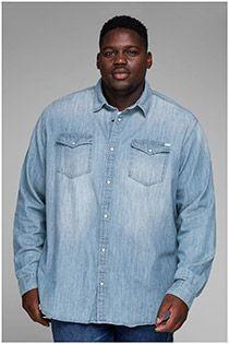 Jeansoberhemd von Jack & Jones