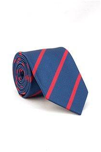 Gestreifte EXTRA LANGE Krawatte von Plusman