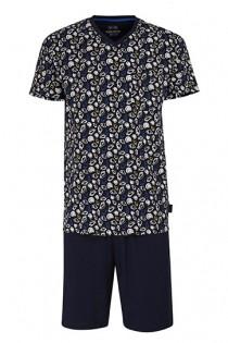 Kurzer Pyjama von Ceceba mit Allover-Print