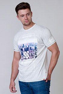 D555 korte mouw t-shirt New York